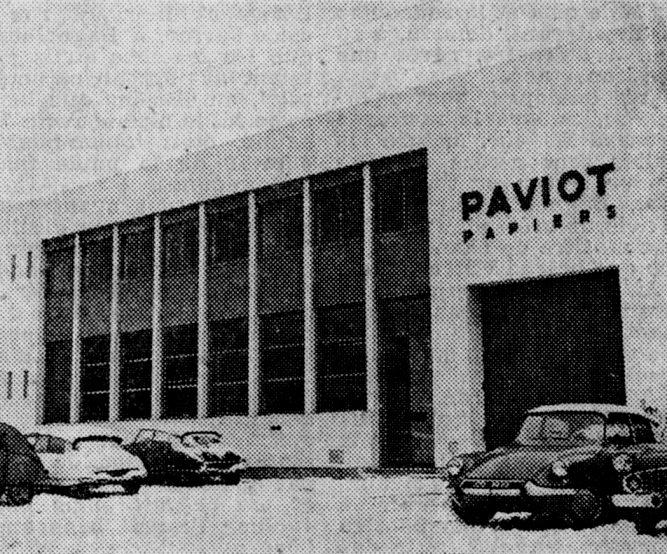 Photo de l'usine à Gerland